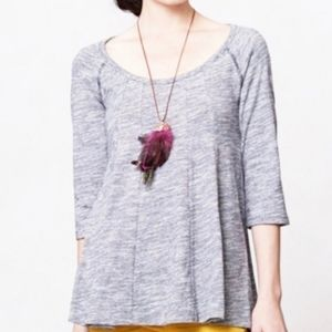 NWT! Anthropologie cotton pullover swing tunic